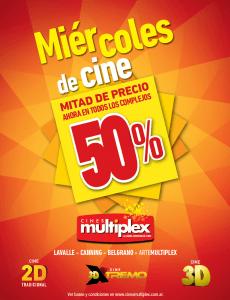 Promociones cines multiplex for Cines arenys precios